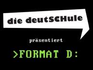 """Konversationskurs Berlin; der Flyer des Kurses """">Format D:"""""""