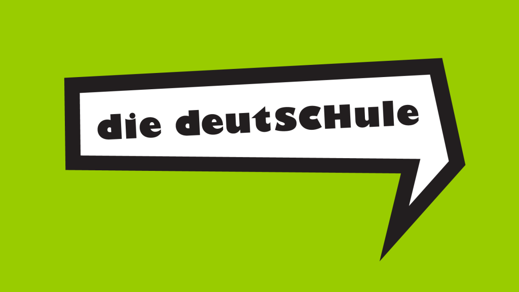 Language school Berlin; the logo of the die deutSCHule