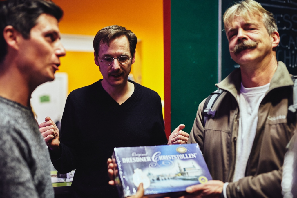Engagement in Berlin - die deutSCHule gratuliert einem Gewinner der Weihnachtslotterie